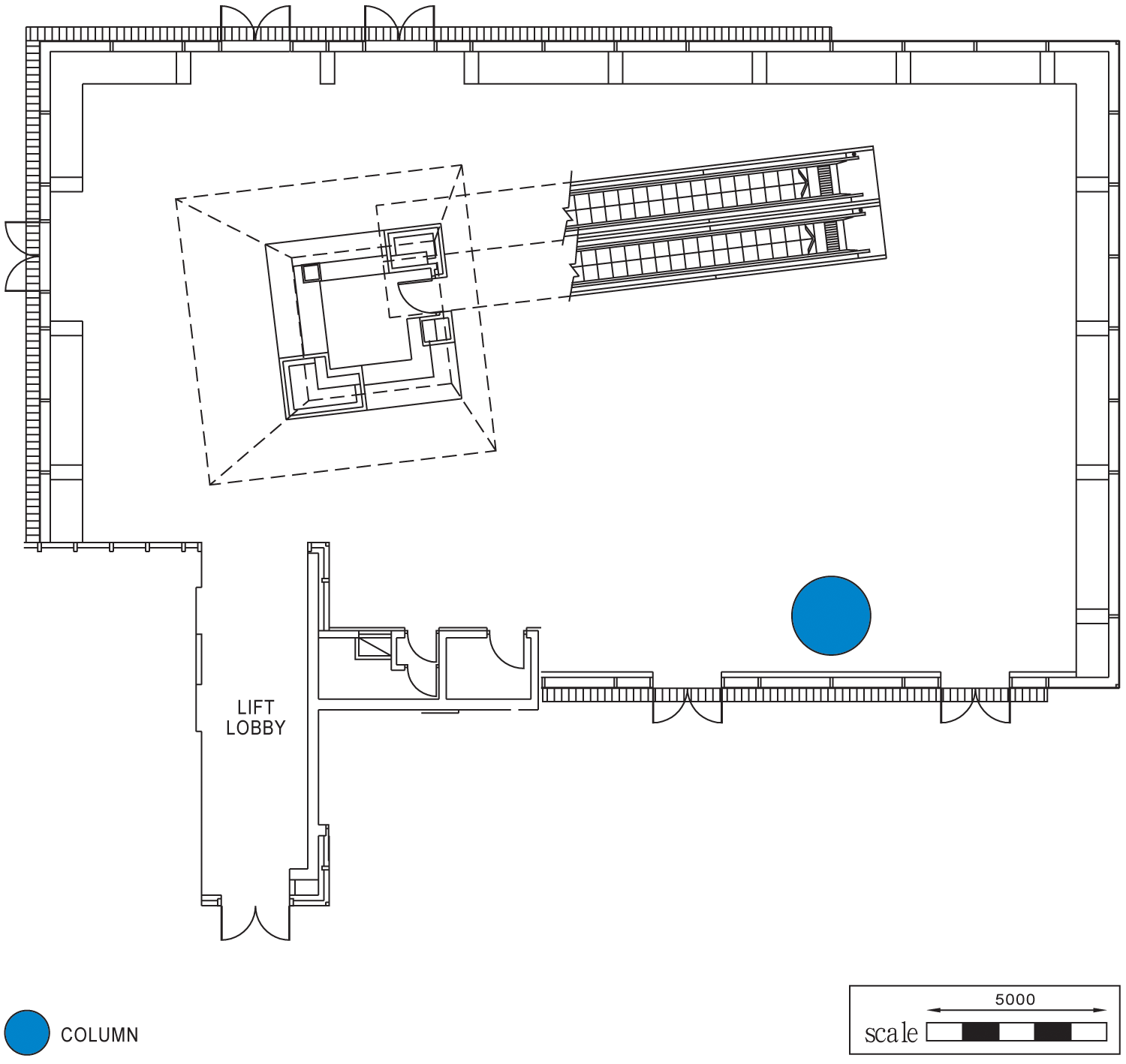 Lobby L1, Core E Floor Plan