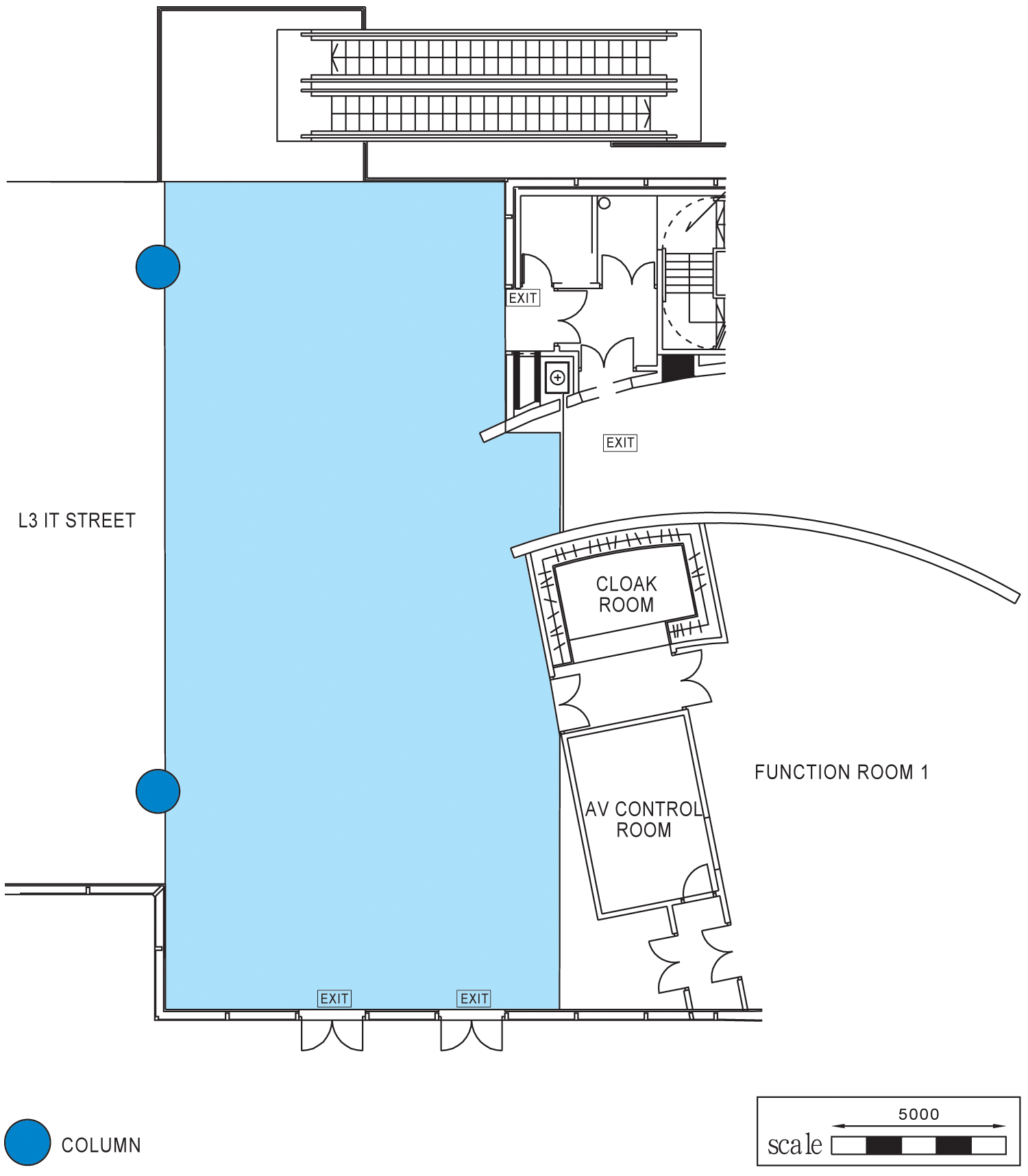 Green Concourse, L3, Core E Floor Plan