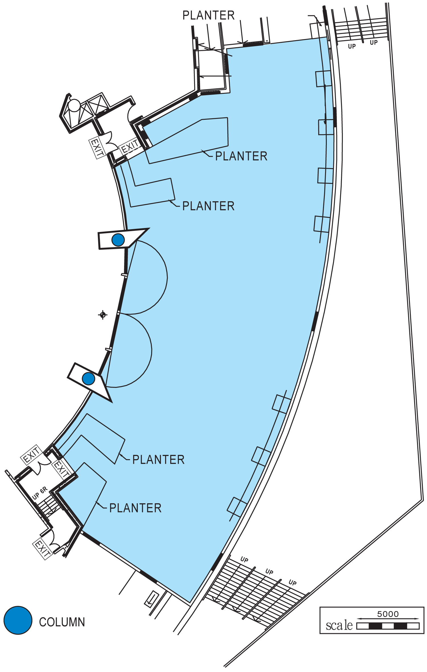 Sea View Terrace Floor Plan