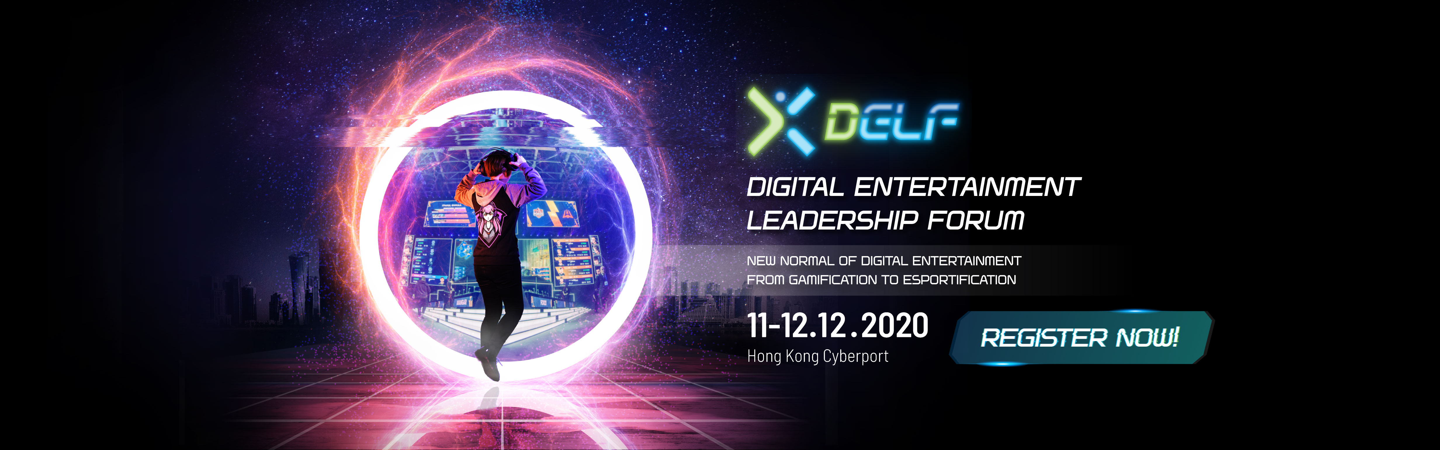 Digital Entertainment Leadership Forum 2020