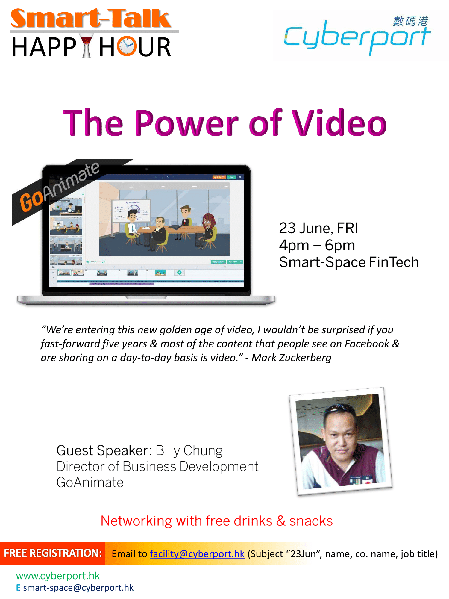 Smart Talk & Happy Hour: The Power of Video