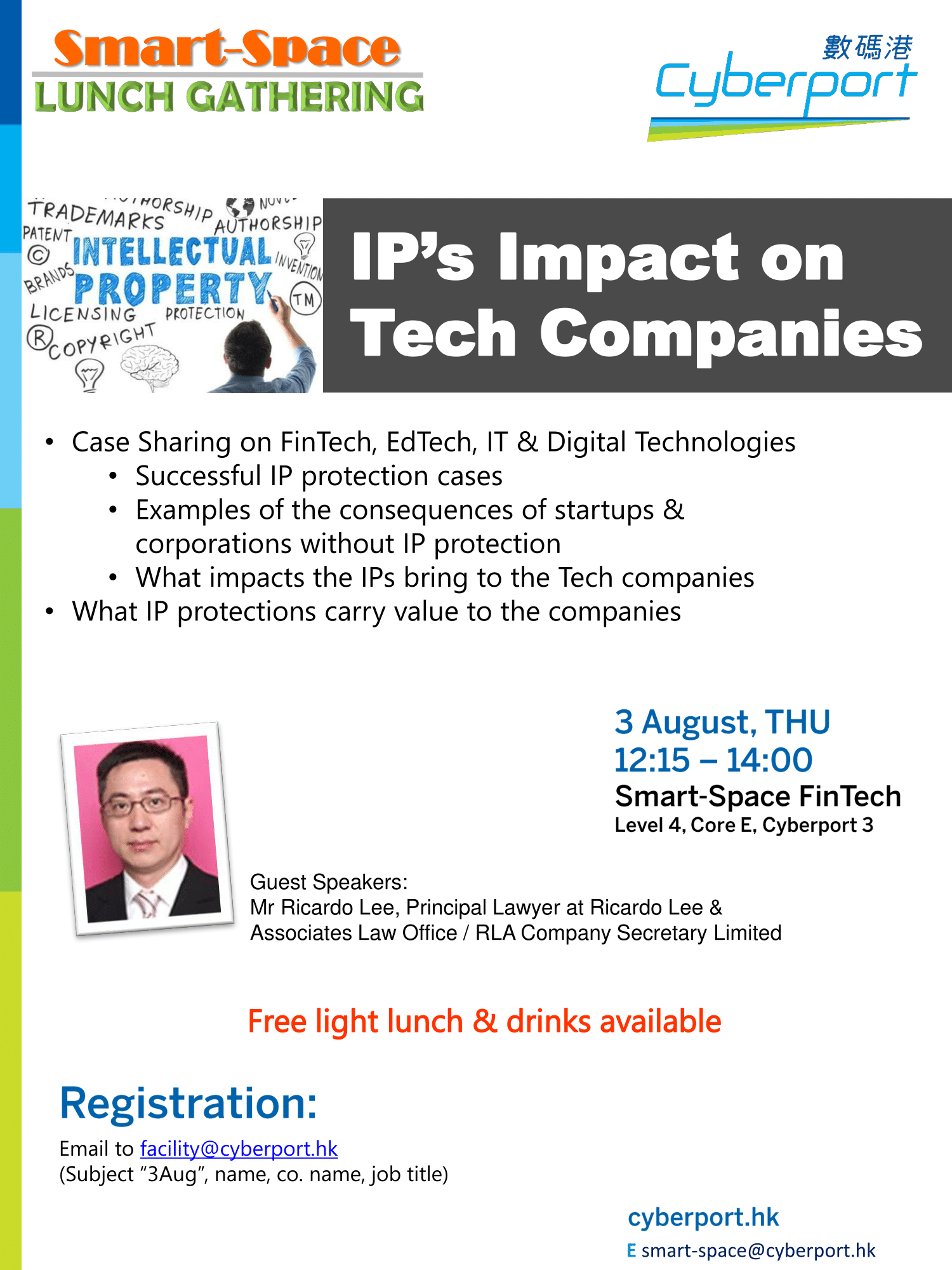 Smart-Space Lunch Gathering: IP's Impact on Tech Companies
