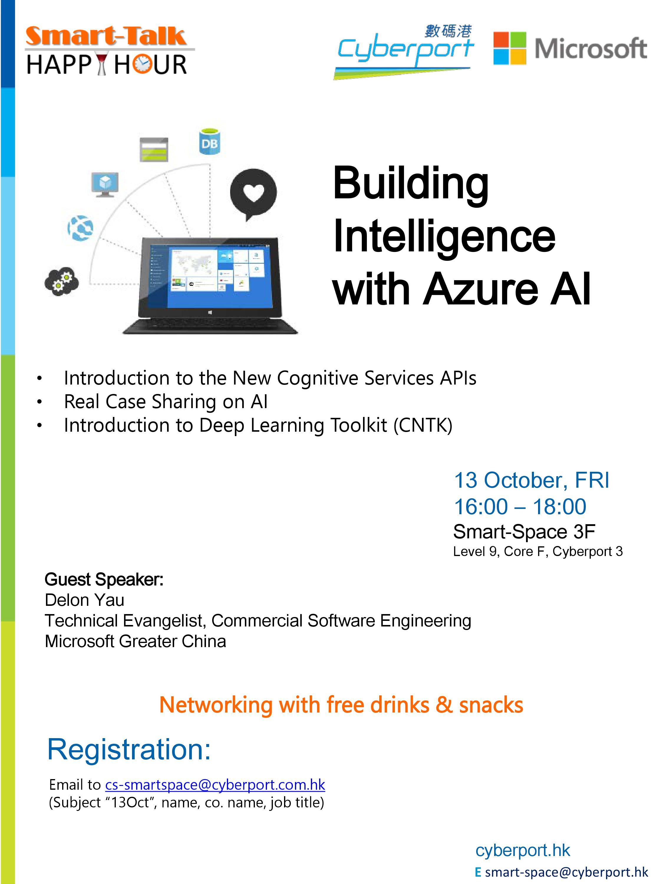 Smart Talk & Happy Hour: Building Intelligence with Azure AI
