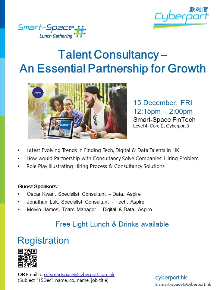Smart-Space Lunch Gathering: Talent Consultancy – An Essential Partnership for Growth