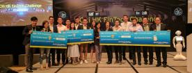 Cyberport companies bag top 3 awards at Citi HK FinTech Challenge 2017