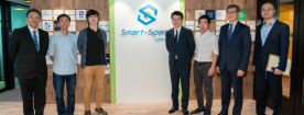 Secretary for Commerce and Economic Development met with start-ups at Smart-Space 8